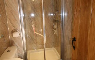 Shower at Nest Barn